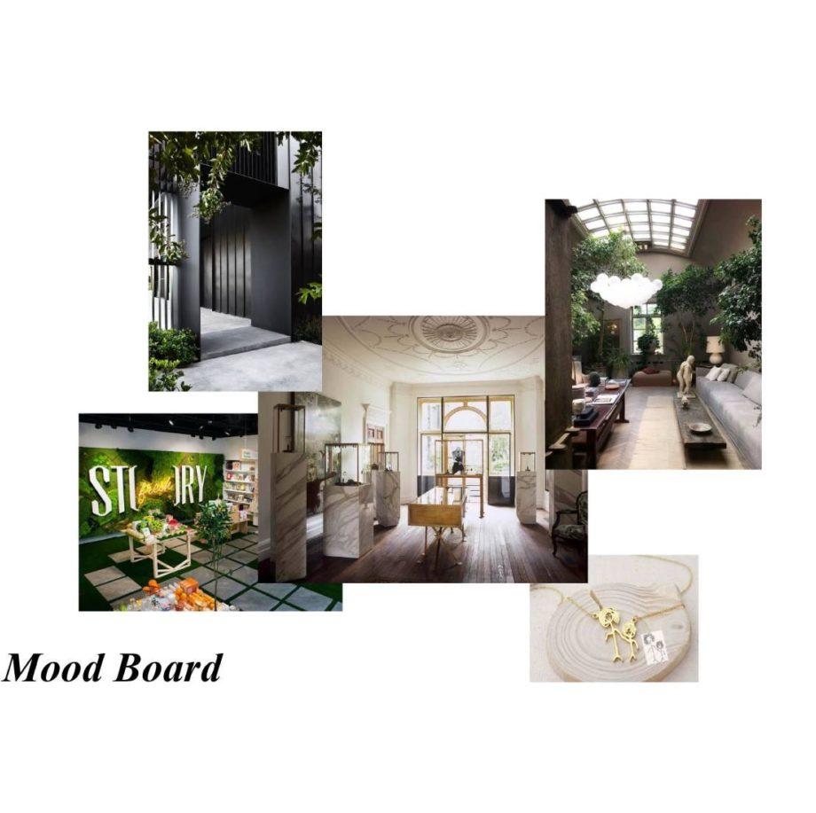 Mood Board le Sens du détail