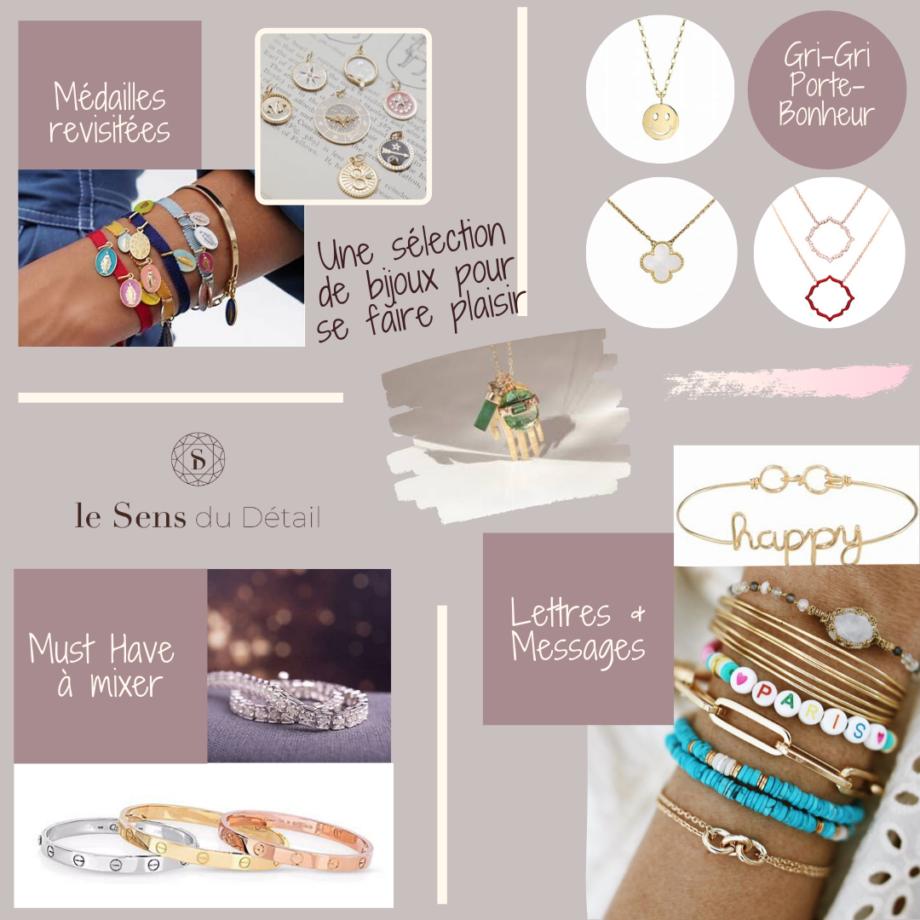 La légèreté des bijoux de printemps - Le sens du Détail